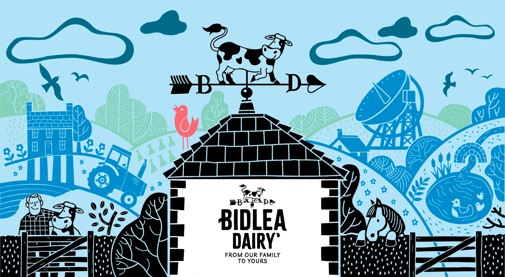 Bidlea Dairy from our family to yours